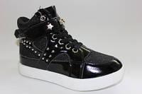 Модные кроссовки на платформе для девочек 31-33,36р.