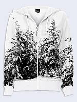 Кофта женская Зимний лес