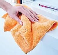 Салфетка из микрофибры  для удаления пыли 35x30 см