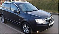 Комплект автомобильных дефлекторов окон ветровиков Opel Antara 2006 (Опель Антара) Cobra Tuning