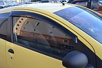 Комплект автомобильных дефлекторов окон ветровиков Peugeot 107 3d 2005/Citroen C1 3d 2005-2008 (Пежо 107) Cobra Tuning