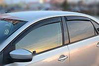 Комплект автомобильных дефлекторов окон ветровиков VW Polo V Sd 2010 (Фольксваген Поло) Cobra Tuning