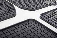 Комплект резиновых ковриков в автомобиль (полиуритановые) Dacia Logan 04 (Дача Логан) (4 шт), Stingray