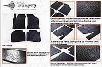 Комплект резиновых ковриков в автомобиль (полиуритановые) Kia Cerato 04 (Киа Керато) (4 шт), Stingray