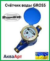 """Счётчик воды """"Gross"""" MNK - 1.5 мокроход"""