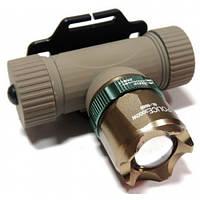 Фонарь аккумуляторный налобный POLICE BL-6866 XPE 99000W+ЗУсеть+авт 3реж zoom