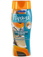 Увлажняющий шампунь для волос Freeman с Папайей и Кокосом. Защита цвета. USA