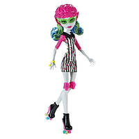Кукла Monster High  Ghoulia Yelps Roller Maze Монстер Хай Гулия Йелпс Роллеры
