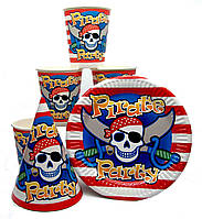 """Набор """"Пираты, пиратская вечеринка"""" набор на одну персону"""