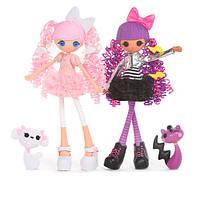 Lalaloopsy Girls Dolls 2-pack - Cloud E. Sky and Storm E. Sky Облачко и Тучка