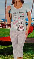 Женская пижама №12638 (капри)