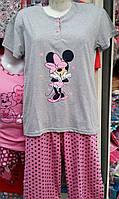 Женская пижама №1602F (капри)
