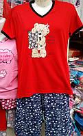 Женская пижама №1600F (капри)