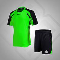 Комплект футбольной формы BestTeam SC-13013 (зеленый/черный)