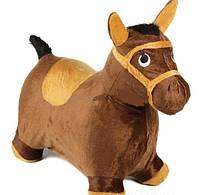 Большой Детский Прыгун в велюровом чехле Лошадь