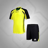 Комплект футбольной формы BestTeam SC-13013 (желтый/черный)