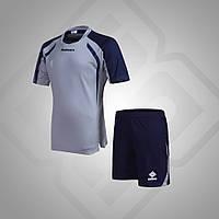 Комплект футбольной формы BestTeam SC-13013 (серый/т.синий)