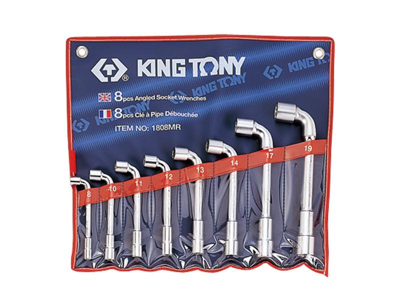 Набор ключей Г-образных 8шт. (8-19 мм) KINGTONY 1808MR