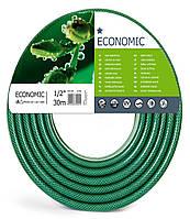 Шланг поливочный армированный Польша Economic Cellfast 3/4 50м 3-ех слойный ( Экономик )