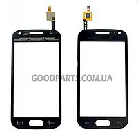 Сенсорный экран (тачскрин) для Samsung I8160 Galaxy Ace 2 черный high copy