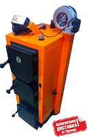 Котел твердотопливный отопительный Донтерм ДТМ Турбо-10Т; 10 кВТ; 100 кв.м.