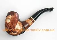 Курительная трубка Беркут ручной работы, резьба по дереву