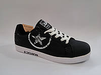 Мужские удобные стильные черные польские кроссовки кеды Rapter