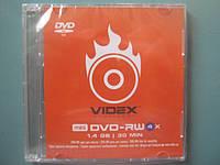 DVD + RW 8 см VIDEX 1.4 гб