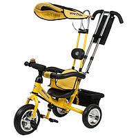 Велосипед Mini Trike LT950 желтый