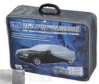 Тент автомобильный CC13401 S серый с подкладкой PEVA+PP Catton