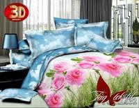 Комплект постельного белья двуспальный 3D PS-HL632