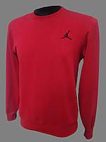 Свитшот мужской спортивный Jordan красный весна, лето Турция