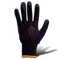 Перчатки нитриловые рабочие, с дополнит.точкой на ладонной части 8,10 размер (4521/4522) ТМ DOLONI / Украина