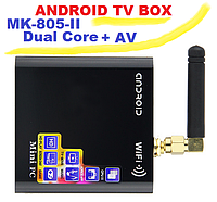 MK 805 II покол., 2 ядра + AV Android 4.2 tv-box IPTV 1080P HD player mini x mk 805