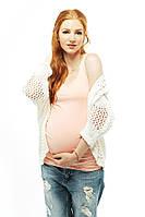 Майка для беременных — Персик