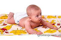 НОВИНКА!!! Многоразовая водонепроницаемая пеленка-простынь на резинке НЕПРОМОКАЙКА! 120*70см