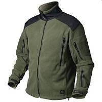 Куртка LIBERTY - Double Fleece - олива/черная