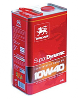Моторное масло Wolver SUPER DYNAMIC 10W-40 5л, фото 1