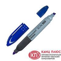 Economix Маркер перманентный, двухсторонний, синий и черный цвет арт. Е11602