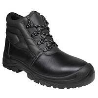 Ботинки S3 кожаные защитные рабочие AZURITE HIGH