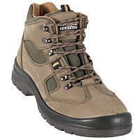 Ботинки S1-Р из натурального нубука защитные EMERALD HIGH