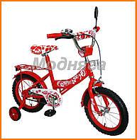 Велосипед 14 дюймов для девочки