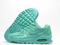 Кроссовки женские Nike Air Max мятные, три баллона (найк аир макс)