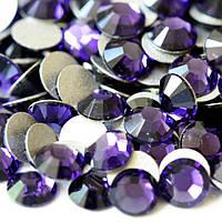 Холодный фиолетовый | Amethyst  Стразы Имитация Swarovski (Размер 3ss; Тип_нанесения Клей Е6000)