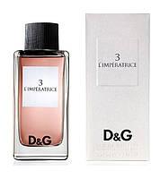 3 L`Imperatrice Dolce & Gabbana eau de toilette 50 ml