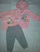Спортивный костюм тройка для девочки Котята
