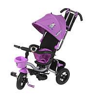 Детский трехколесный велосипед Mars Mini Trike LT960 фиолетовый