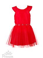 Вечернее красное платье для девочек