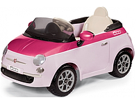 Детский электромобиль Peg Perego 6V Fiat 500 + Пульт