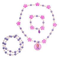 Дисней (Disney) Украшение Принцессы Софии - ожерелье с кристаллами